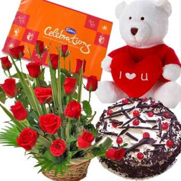 Flower Cake Gifts Delivery Rourkela