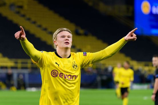 Manchester City is considered a favorite for Erling Halland