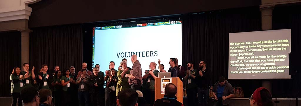 WordCamp London 2019 closing session