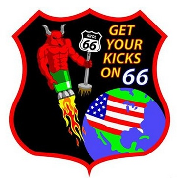 Spy agency's rocket launch had a Route 66 reference
