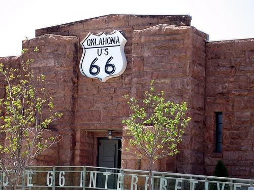 Route 66 Interpretive Center, Chandler, OK