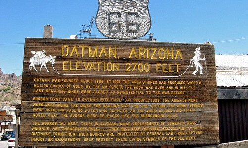 A closer look at Oatman