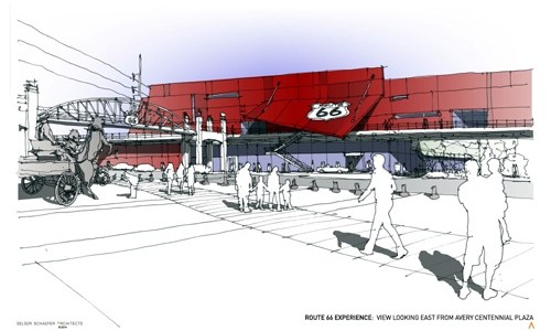 A closer look at the Route 66 Experience design