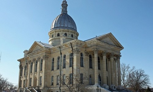 Macoupin County Courthouse finishes north-stair renovations