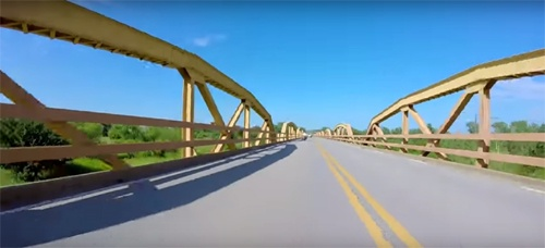 An intriguing look at the Pony Bridge