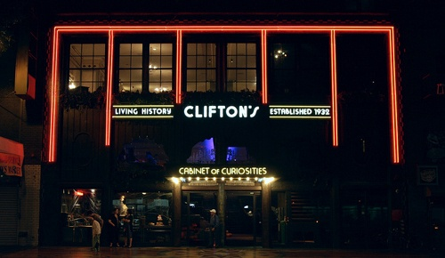 CBS takes a closer look at Clifton's Cafeteria
