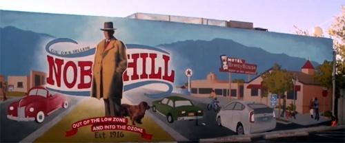 Nob Hill unveils centennial mural