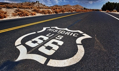 What is the length of Route 66?