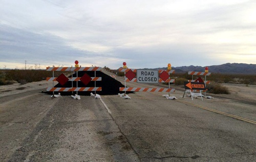 Will the Mountain Springs Road section of Route 66 reopen?
