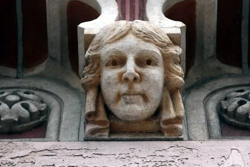 Face on Majestic Theatre, East St. Louis