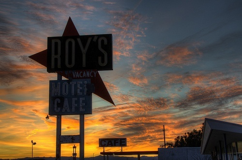 Sunset at Roy's in Amboy