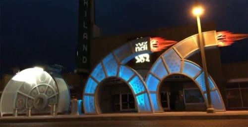 New Route 66-inspired sculpture dedicated in Albuquerque