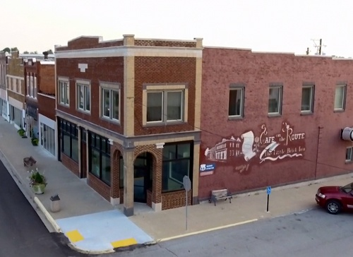 Former Cafe on the Route is up for sale