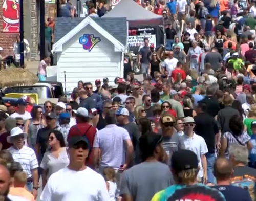 Record crowds attend Birthplace of Route 66 Festival