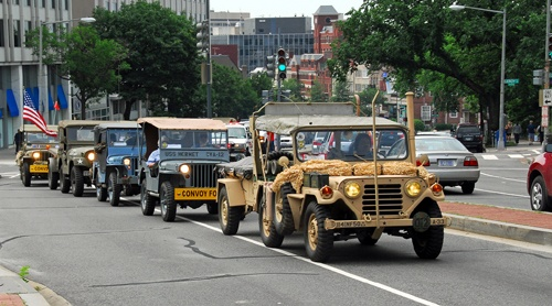 Antique military vehicle convoy planned on Route 66 in fall 2017