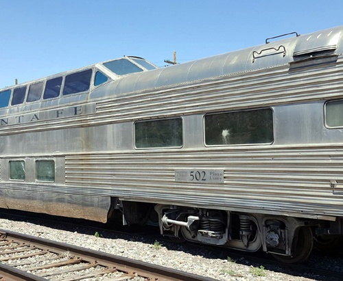 La Posada acquires vintage domed rail car