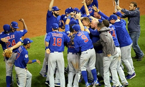 Cubs win first World Series in 108 years