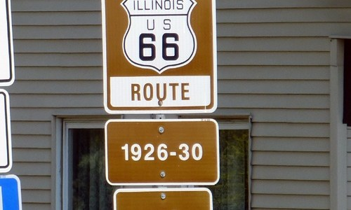 Signs to be added to downtown Route 66 alignment in Lincoln