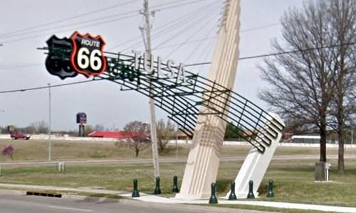 Route 66 Gateways in Tulsa win architectural design award