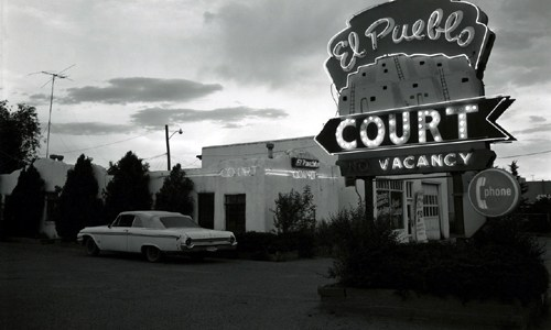 Route 66 motel photos from 1970s shown by California gallery