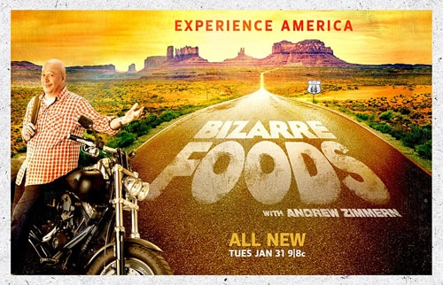 "Route 66 episode of ""Bizarre Foods"" airs Feb. 21"