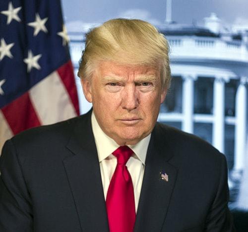 President Donald Trump, official portrait