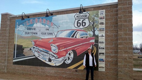 Lebanon unveils new Route 66 mural in Boswell Park