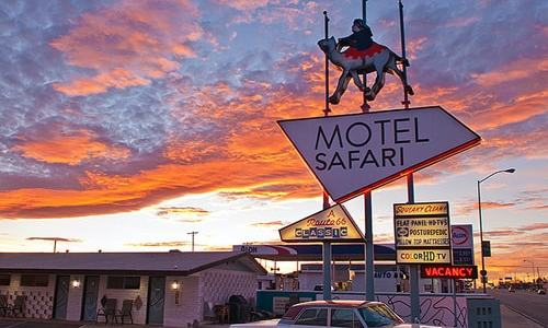 Motel Safari in Tucumcari is up for sale