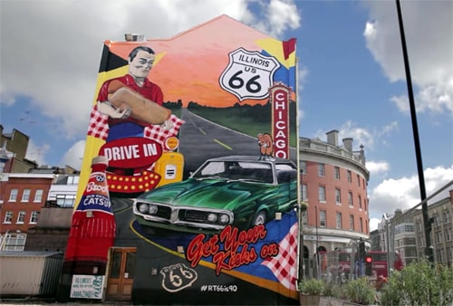 Exporting the buzz of Route 66 to England
