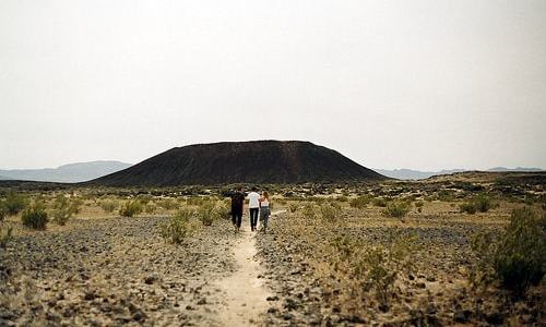 Two hikers found dead near Amboy Crater