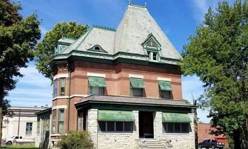 Historic house for sale in Webb City being considered as a B&B