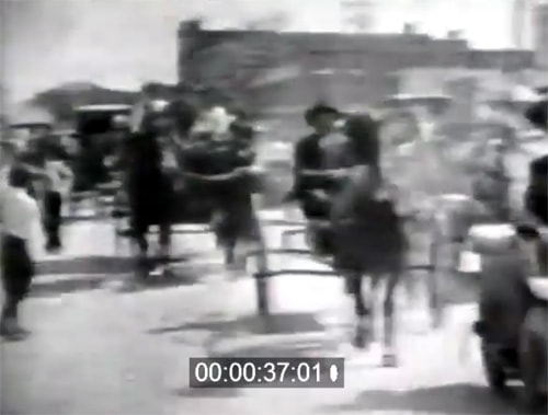 Rare film footage of old Galena
