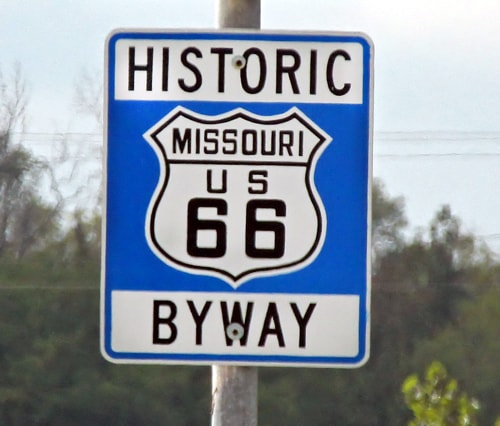 Marshfield to add signs to old alignment of Route 66