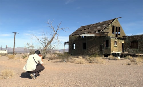 Photography tips on Route 66 in Ludlow
