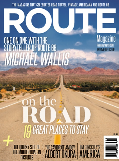 Website for ROUTE Magazine goes live