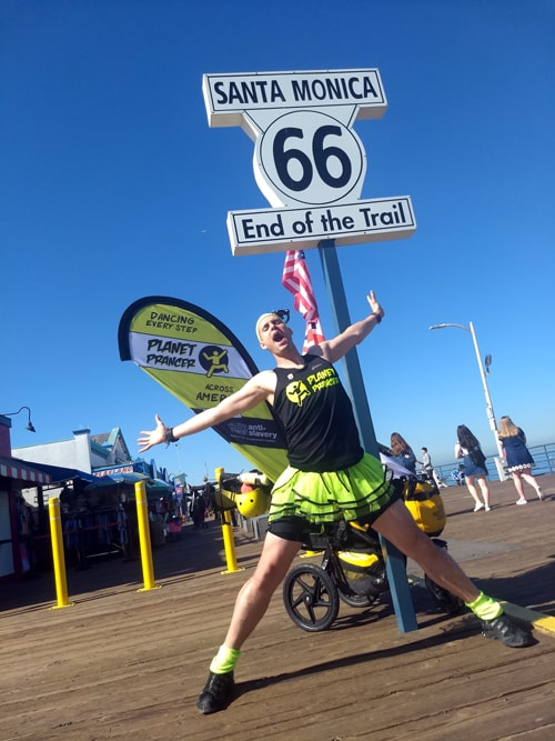 Man plans to dance the length of Route 66 for charity