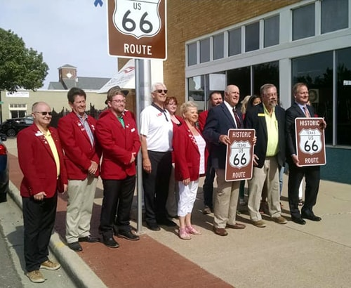 New Route 66 signs unveiled in Amarillo
