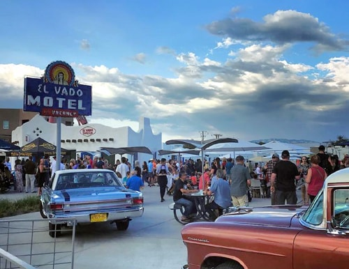 Scenes from El Vado Motel's grand reopening