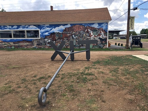 'World's largest branding iron' placed at Vega museum