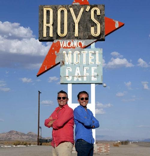 """Breaking Dad"" road-trip program on British TV has Route 66 stops"