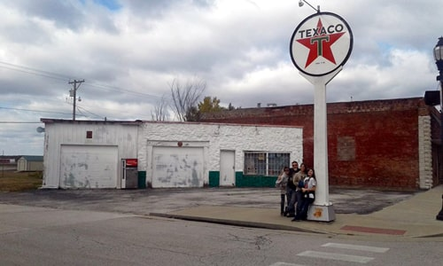 Man vows to restore 1939 Texaco station in Galena