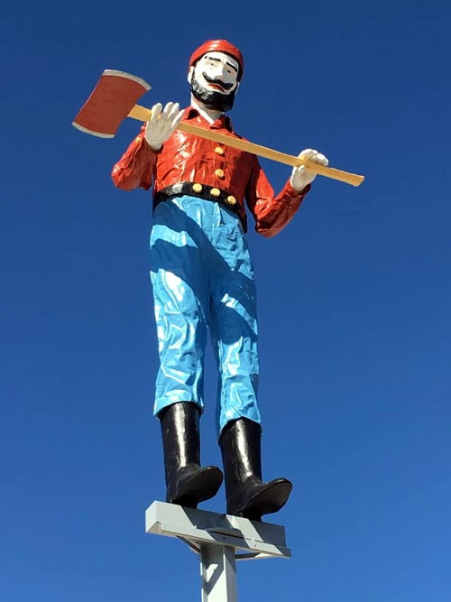 Restoration complete on Muffler Man lumberjack in Albuquerque