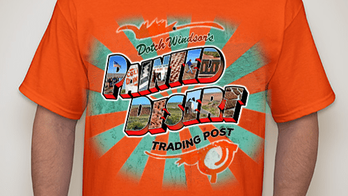 Painted Desert Trading Post group selling T-shirts to help pay for Phase III work