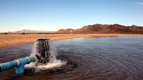 A new law makes it harder for company to pump water from the Mojave Desert
