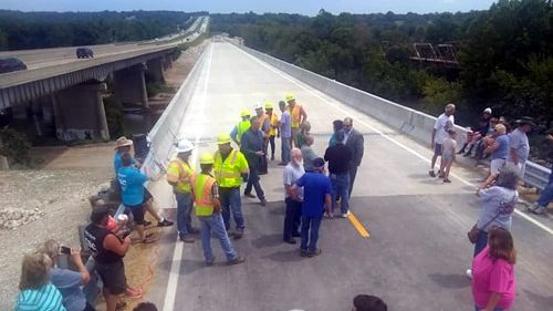 New Gasconade River Bridge reconnects Route 66 in region
