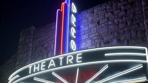 Restored Pecos Theatre reopens in Santa Rosa