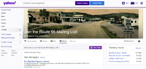 End of an era: Yahoo! will scale back Route 66 group