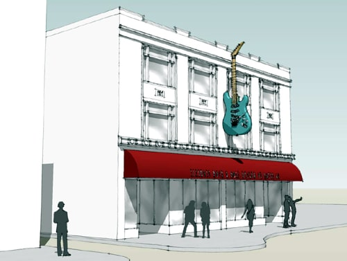 Construction begins on Illinois Rock & Roll Museum on Route 66