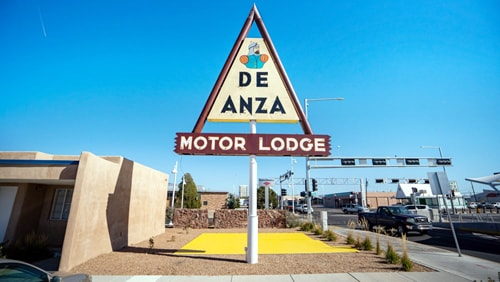 De Anza Motor Lodge sign will be relighted Sunday