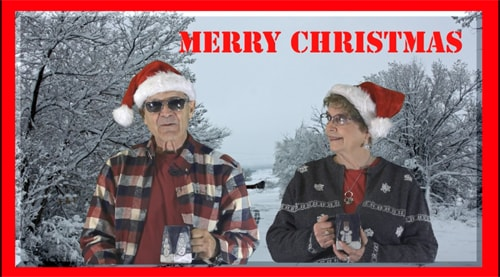 Frank and Lynne's 10th annual Christmas video